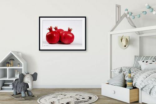 תמונה לחדר ילדים - קובי פרידמן - רימונים - מק''ט: 31120