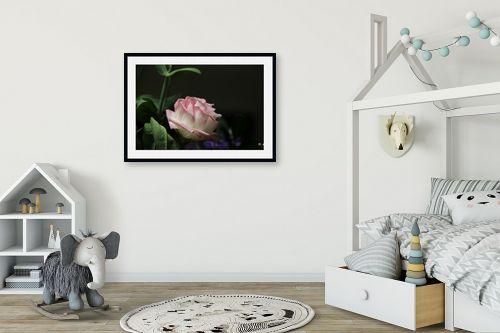 תמונה לחדר ילדים - אבי סימן-טוב - דבר אליי בפרחים - מק''ט: 315673