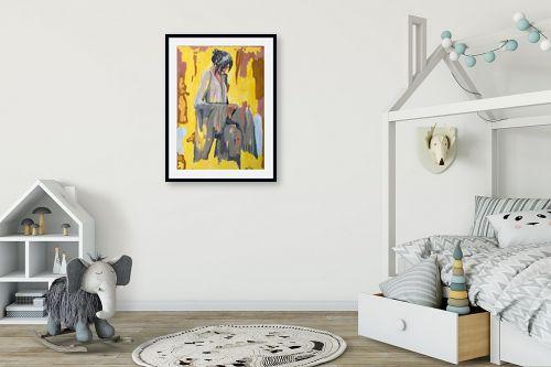 תמונה לחדר ילדים - MMB Art Studio - China Girl  - מק''ט: 315777
