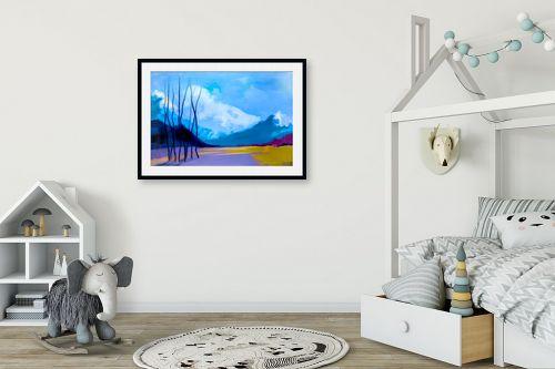 תמונה לחדר ילדים - גורדון - בוקר קר בארץ רחוקה - מק''ט: 318569