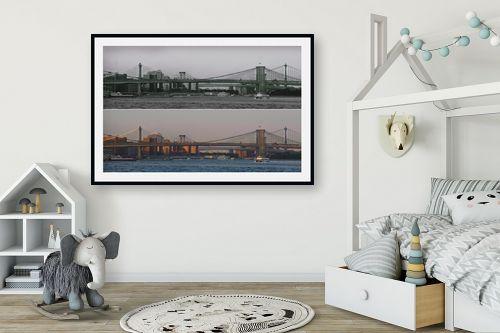 תמונה לחדר ילדים - אלי נגר - גשר ברוקלין - מק''ט: 320306