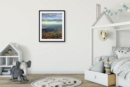 תמונה לחדר ילדים - משה יפה - שדות תיאלנד - מק''ט: 324230