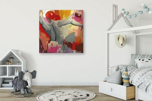 תמונה לחדר ילדים - MMB Art Studio - X MAN - מק''ט: 326116