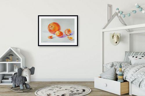 תמונה לחדר ילדים - נטליה ברברניק - תפוז ומנדרינות - מק''ט: 330619