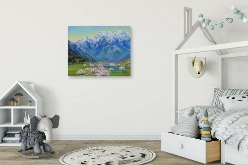 תמונה לחדר ילדים - נטליה ברברניק - אביב  בהאלפים - מק''ט: 330646
