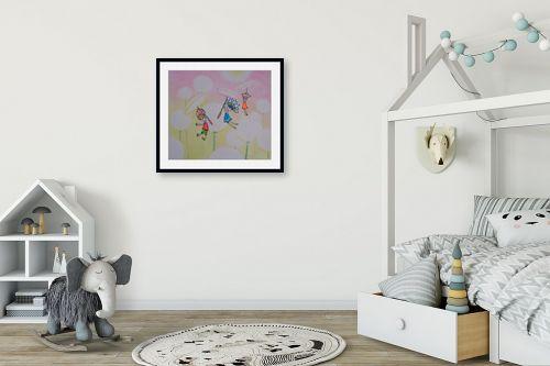 תמונה לחדר ילדים - נטליה ברברניק - משחק - מק''ט: 330665