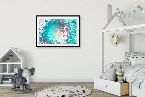 תמונה לחדר ילדים - Artpicked - ים של צבעים - מק''ט: 332533