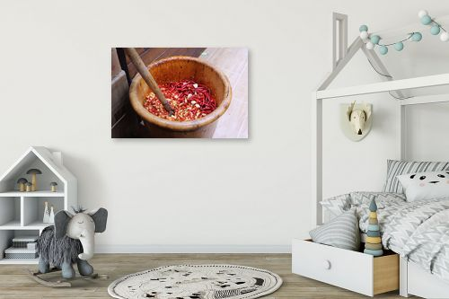 תמונה לחדר ילדים - מירית אלון הלוי - Hot Chili - מק''ט: 333278