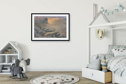 תמונה לחדר ילדים - גל מאירי - זריחה במדבר - מק''ט: 335235