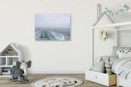 תמונה לחדר ילדים - לימור ברק - אל מרחבי הים - מק''ט: 335740