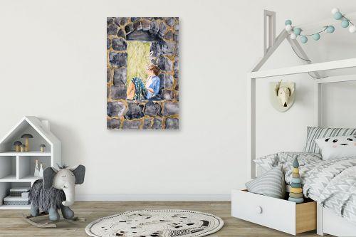 תמונה לחדר ילדים - נריה ספיר - מצפה לבאות - מק''ט: 336181