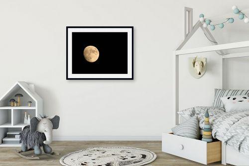 תמונה לחדר ילדים - משה יפה - ירח יזרעאלי - מק''ט: 3792