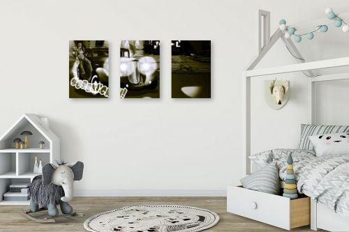 תמונה לחדר ילדים - חנן אביסף - מאפיונר בשחור ולבן - מק''ט: 53106