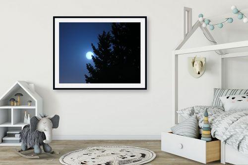 תמונה לחדר ילדים - משה יפה - בראש כחול - מק''ט: 6089