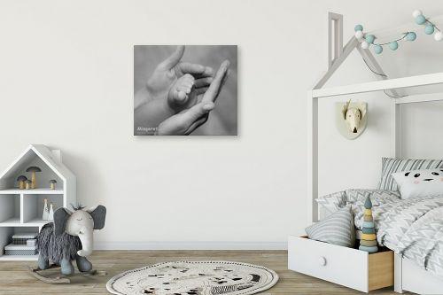 תמונה לחדר ילדים - אילן עמיחי - כזה קטן - מק''ט: 6109