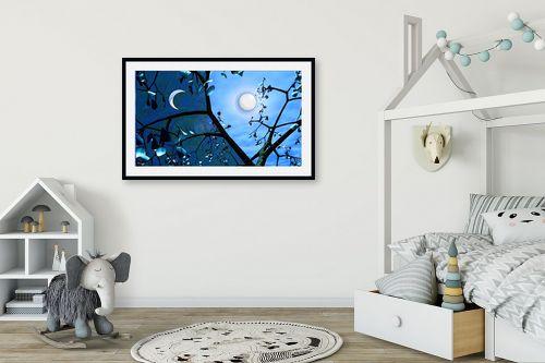 תמונה לחדר ילדים - רעיה גרינברג - יום ולילה - מק''ט: 86125
