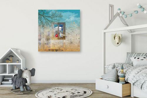 תמונה לחדר ילדים - בתיה שגיא - נופים רחוקים - מק''ט: 90865