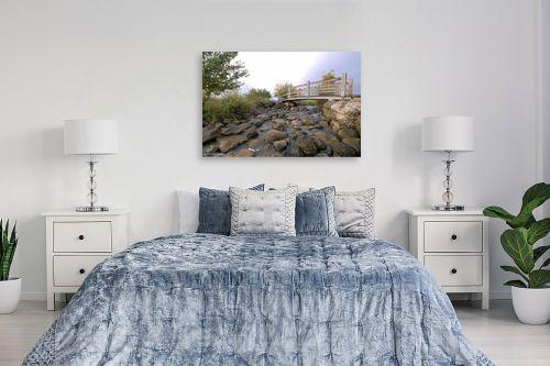 תמונה לחדר שינה - קובי פרידמן - גשר קטן - מק''ט: 107350