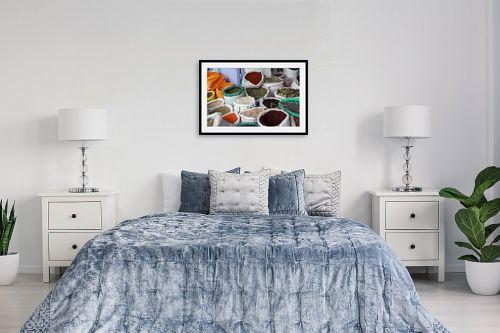 תמונה לחדר שינה - מיכל פרטיג - צבע וארומה - מק''ט: 114661