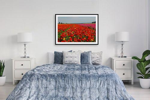 תמונה לחדר שינה - שוש אבן - נוריות - מק''ט: 122482