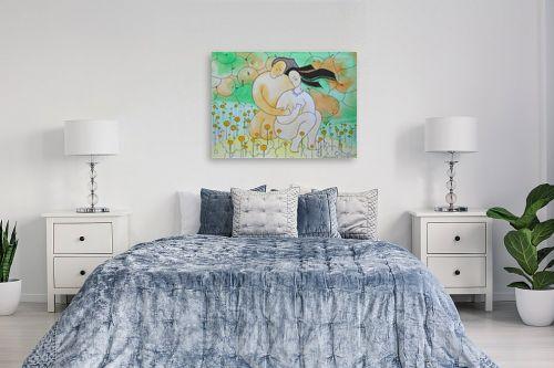 תמונה לחדר שינה - נטליה ברברניק - לפני - מק''ט: 122776
