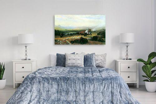 תמונה לחדר שינה - אלברט בירשטאדט - Albert Bierstadt 051 - מק''ט: 124654