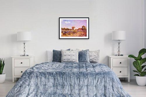 תמונה לחדר שינה - אלפרד סיסלי - Alfred Sisley 022 - מק''ט: 124889