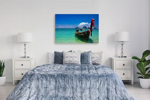 תמונה לחדר שינה - ניר אלון - חוף קראבי - מק''ט: 129499