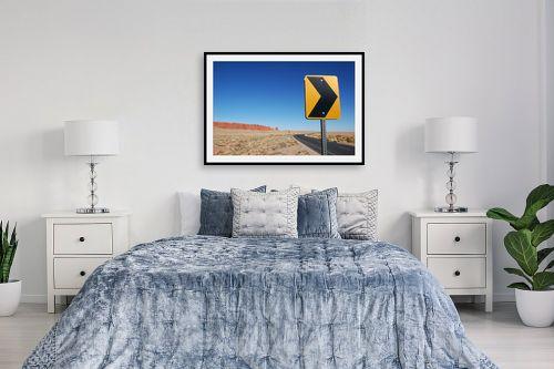 תמונה לחדר שינה - רן זיסוביץ - סיבוב במדבר - מק''ט: 138548