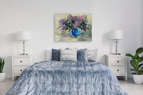 תמונה לחדר שינה - נטליה ברברניק - לילך בכחול - מק''ט: 154997
