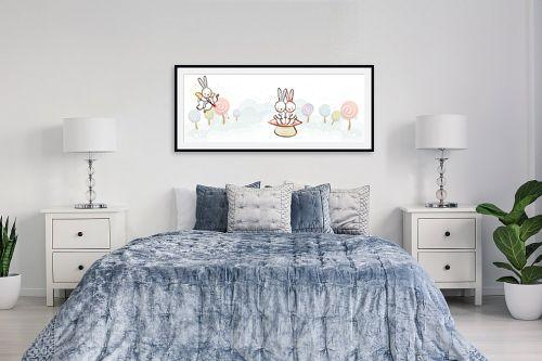 תמונה לחדר שינה - נעמי עיצובים - קופידון - מק''ט: 157199