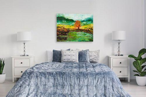 תמונה לחדר שינה - שולי חיימזון - העץ הבודד - מק''ט: 158299
