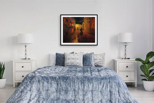 תמונה לחדר שינה - חגי עמנואל - חוצות ירושלים - מק''ט: 163609