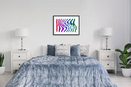 תמונה לחדר שינה - זיו בשן - RGB Color - מק''ט: 164060