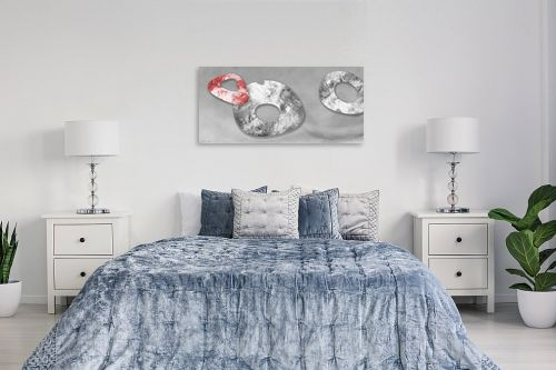 תמונה לחדר שינה - נעמי עיצובים - אבן אודם - מק''ט: 164839