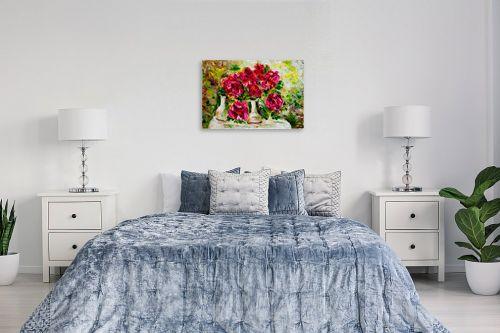 תמונה לחדר שינה - שולי חיימזון - פרחים - מק''ט: 180877