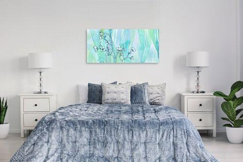 תמונה לחדר שינה - נעמי עיצובים - פרחי קיץ - מק''ט: 188943