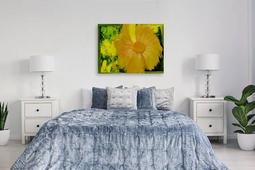 תמונה לחדר שינה - ענת אומנסקי - זריחת החרצית - מק''ט: 190219