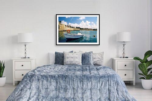 תמונה לחדר שינה - קובי פרידמן - סירה בעכו - מק''ט: 19661