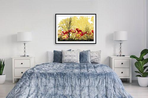תמונה לחדר שינה - רוזה לשצ'ינסקי - יער בערפל - מק''ט: 204267