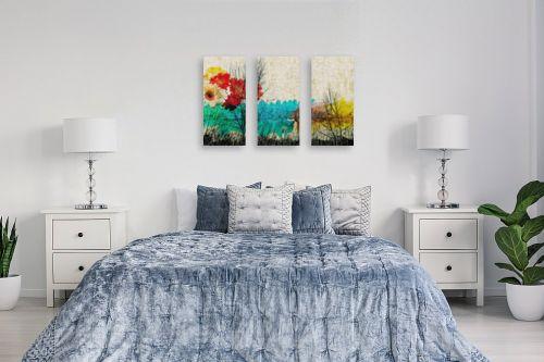 תמונה לחדר שינה - רוזה לשצ'ינסקי - נוף על בד - מק''ט: 205973