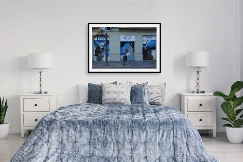 תמונה לחדר שינה - כרמל תדמור - הרחוב המזמר - מק''ט: 208025