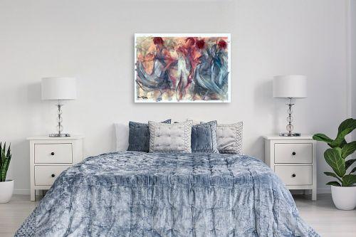 תמונה לחדר שינה - בן רוטמן - העצמה נשית - מק''ט: 215658