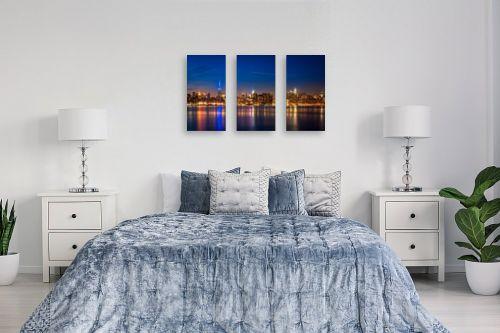 תמונה לחדר שינה - עידן גיל - קו רקיע ניו יורק - מק''ט: 228654