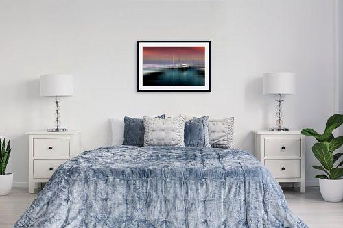 תמונה לחדר שינה - ציפי נוימן - שייט של שקיעה - מק''ט: 229381