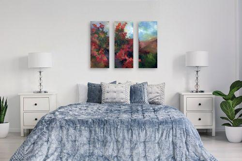 תמונה לחדר שינה - חגי עמנואל - העץ האדום - מק''ט: 247019