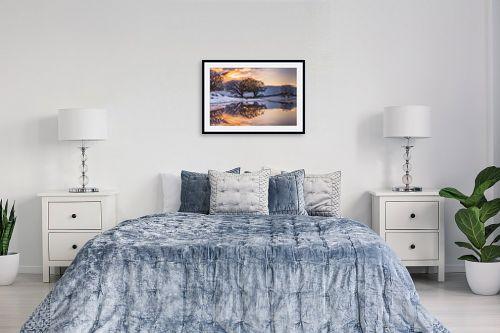 תמונה לחדר שינה - מיכאל שמידט - חורף כפול - מק''ט: 250993