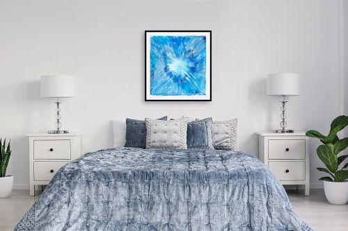 תמונה לחדר שינה - אירית שרמן-קיש - כתם של צבע - מק''ט: 260379