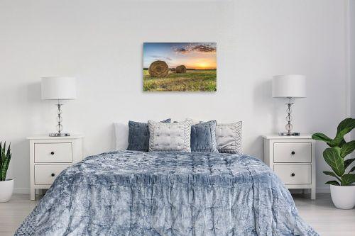 תמונה לחדר שינה - מיכאל שמידט - פסטורליה בשדה - מק''ט: 261039