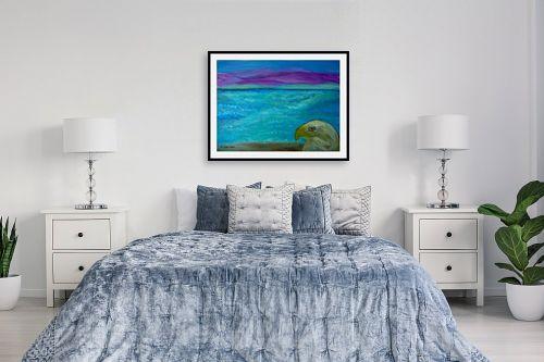 תמונה לחדר שינה - אסתר חן-ברזילי - חוף באי מלטה - מק''ט: 261339